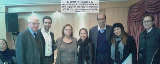 Synthèse et recommandation de la table ronde sur La nouvelle politique marocaine d'immigration et la régularisation des femmes et des enfants – 19 Décembre 2015