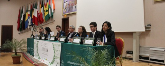 Participation du CUDM en tant que « Guest Speaker » à la 4ème édition de la conférence « Al Akhawayn Model United Nations »